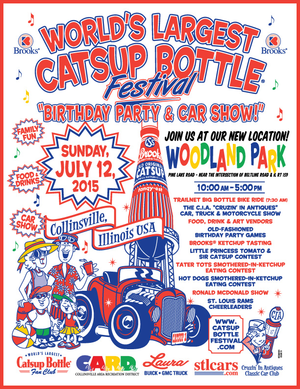 2015 Catsup bottle Festival Collinsville